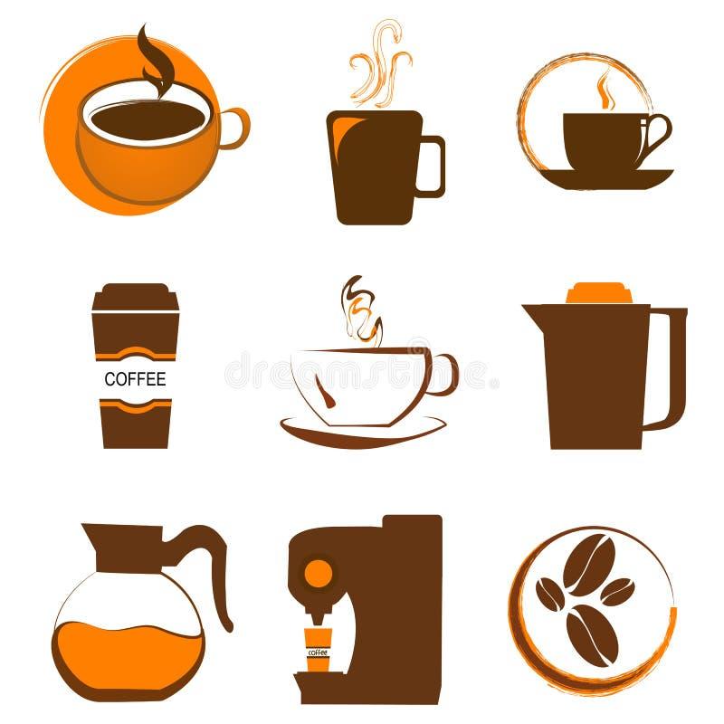 Icona del caffè illustrazione di stock