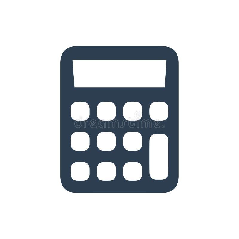 Icona del calcolatore illustrazione di stock
