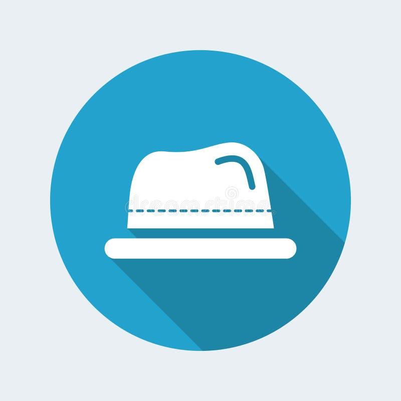 Icona del cappello illustrazione vettoriale