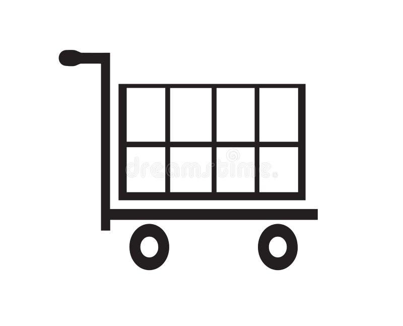 Icona del carrello di acquisto royalty illustrazione gratis