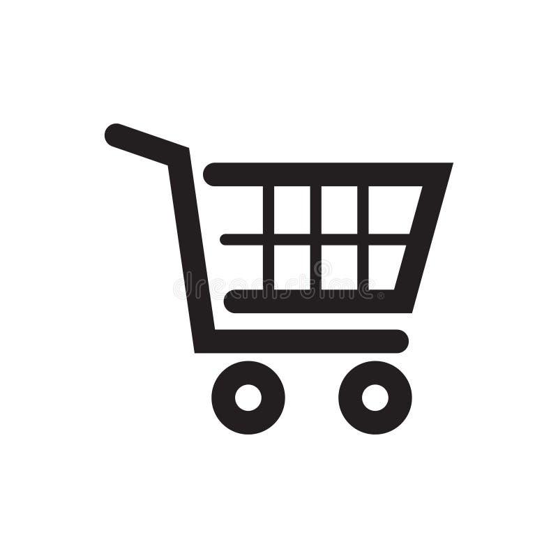 Icona del carrello di acquisto Icona del carrello, royalty illustrazione gratis