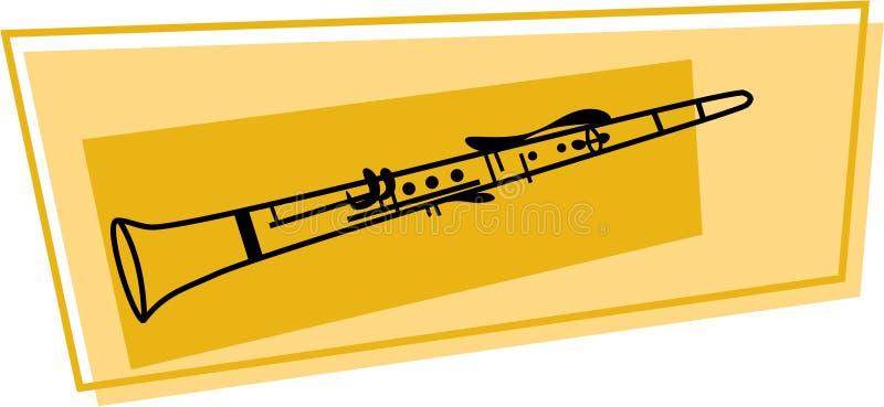 Icona del Clarinet royalty illustrazione gratis