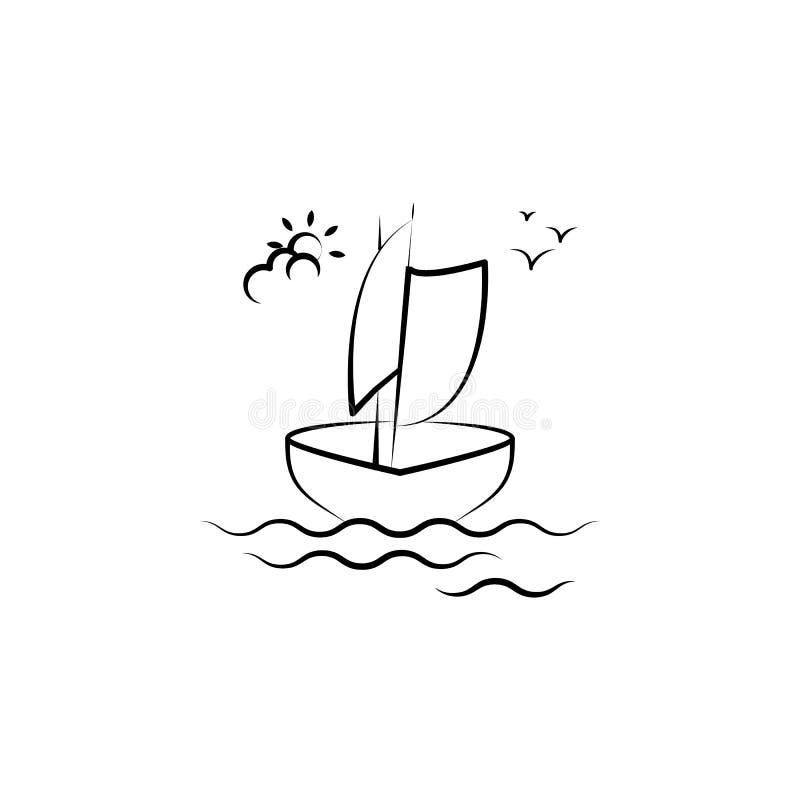 icona del crogiolo di legname Elemento dell'icona antinvecchiamento per i apps mobili di web e di concetto L'icona del crogiolo d illustrazione di stock
