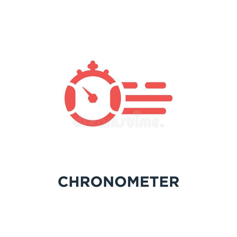 Icona del cronometro progettazione di simbolo di concetto del temporizzatore, illustrati di vettore illustrazione di stock