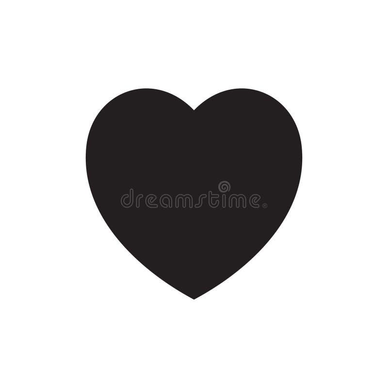 Icona del cuore, icona di amore royalty illustrazione gratis