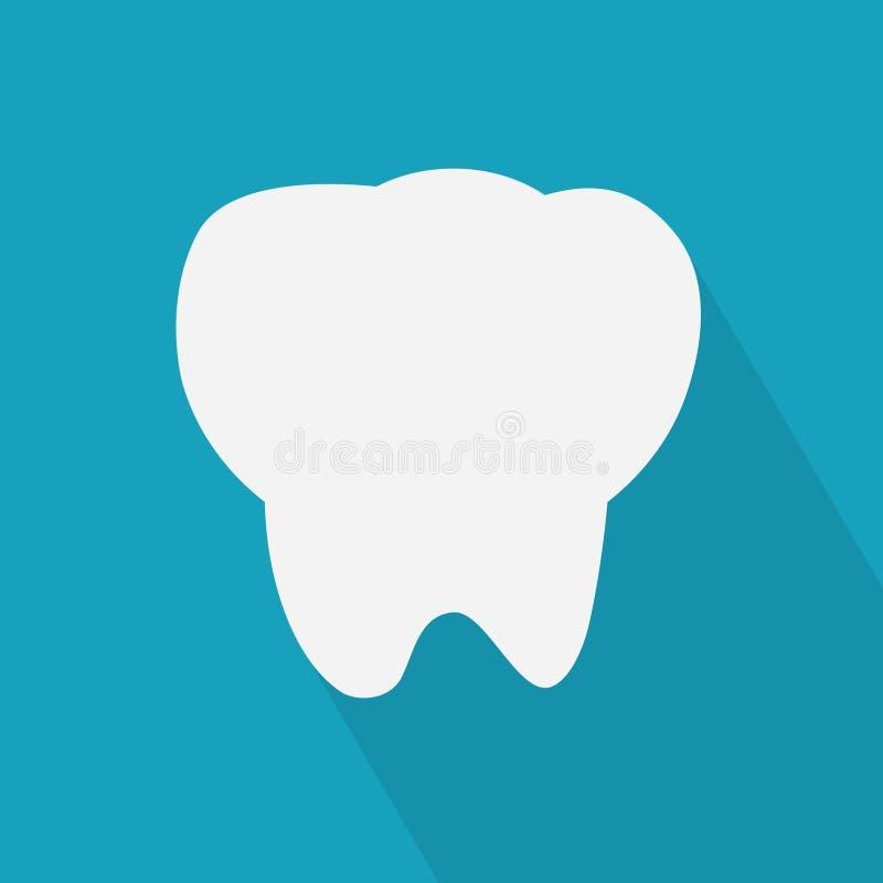Icona del dente illustrazione vettoriale