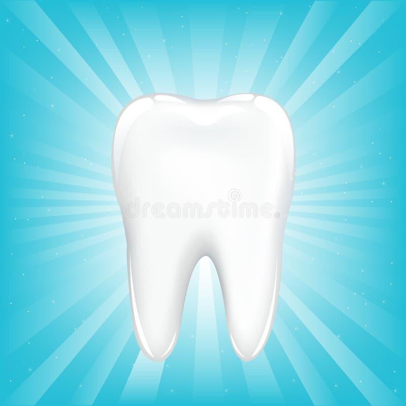 Icona del dente. Vettore royalty illustrazione gratis