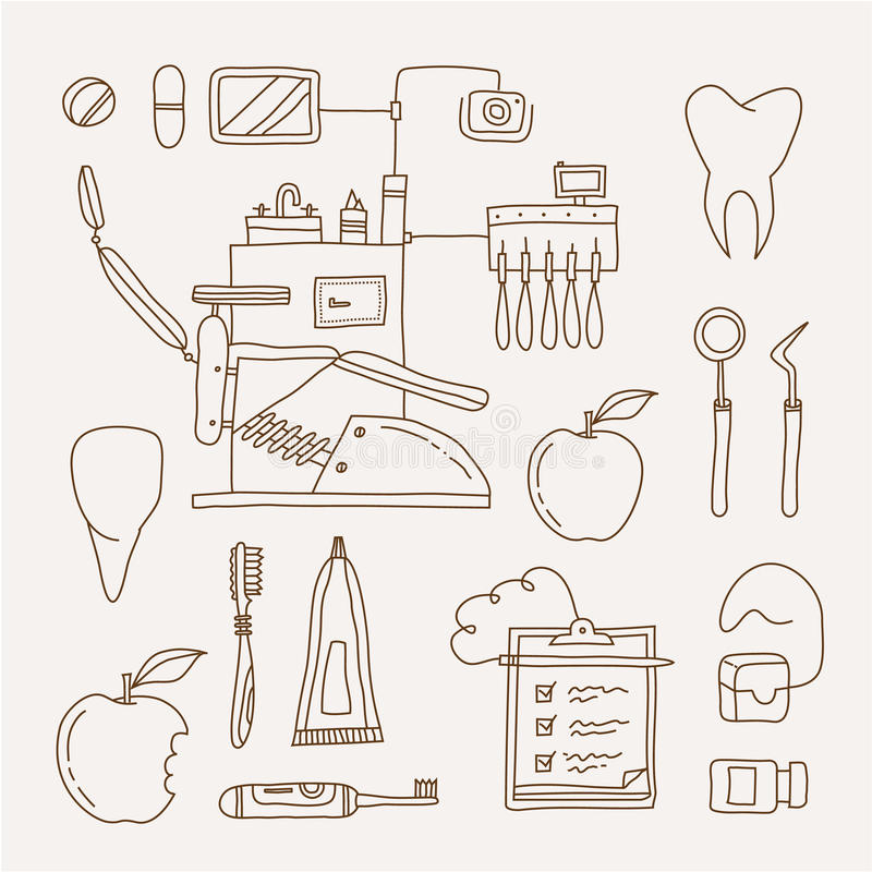 Icona del dentista royalty illustrazione gratis