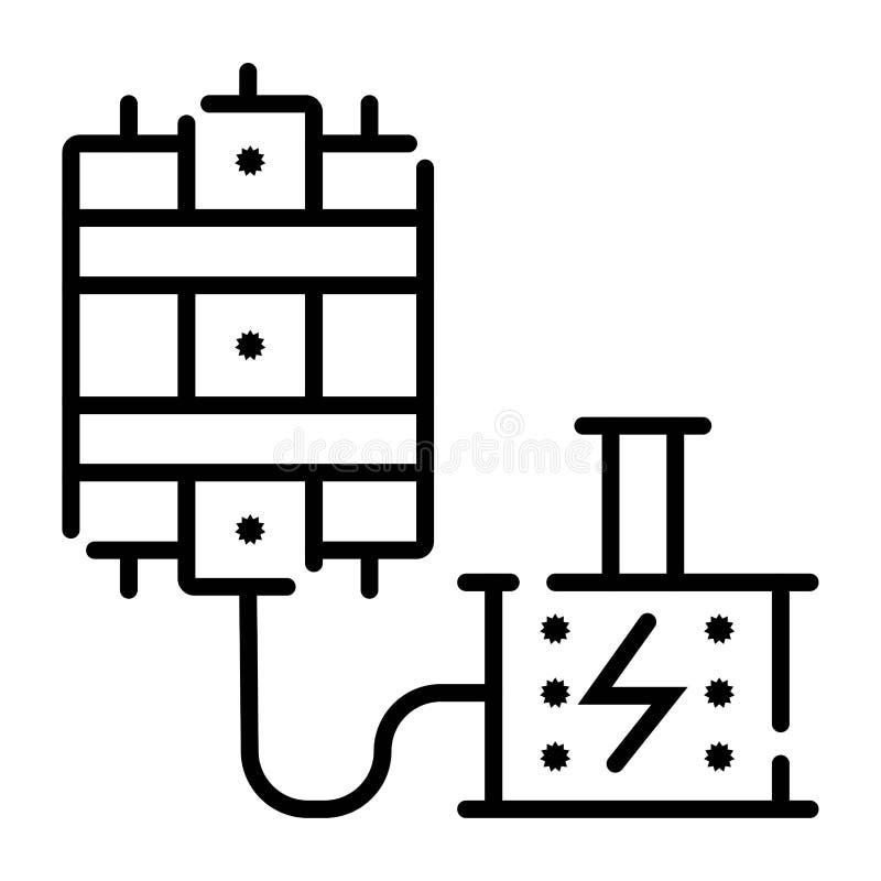 Icona del detonatore e della dinamite royalty illustrazione gratis
