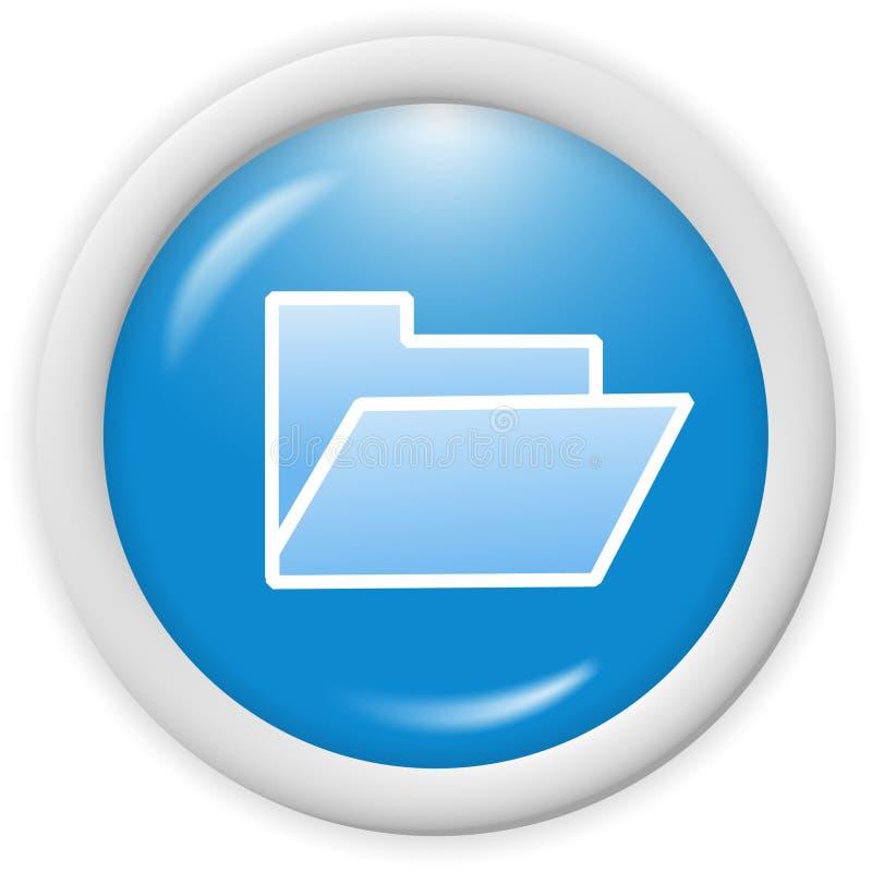 Icona del dispositivo di piegatura illustrazione di stock