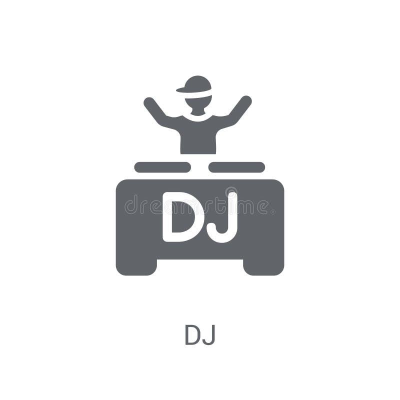 Icona del DJ  royalty illustrazione gratis