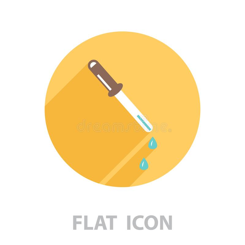 Icona del Eyedropper Illustrazione di vettore illustrazione vettoriale