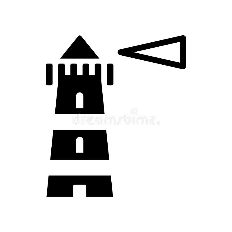 Icona del faro  illustrazione vettoriale