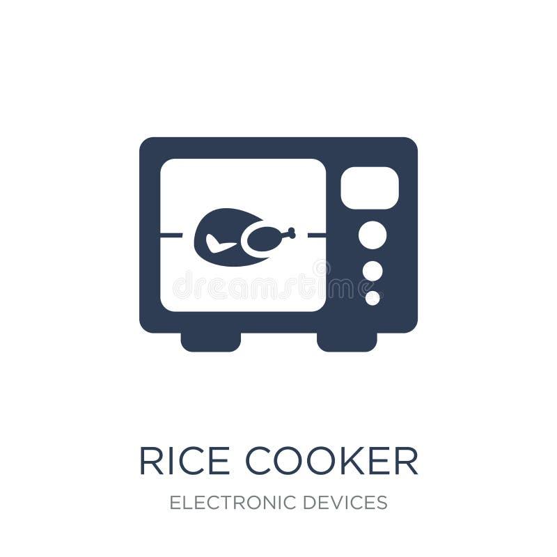 Icona del fornello di riso  illustrazione di stock