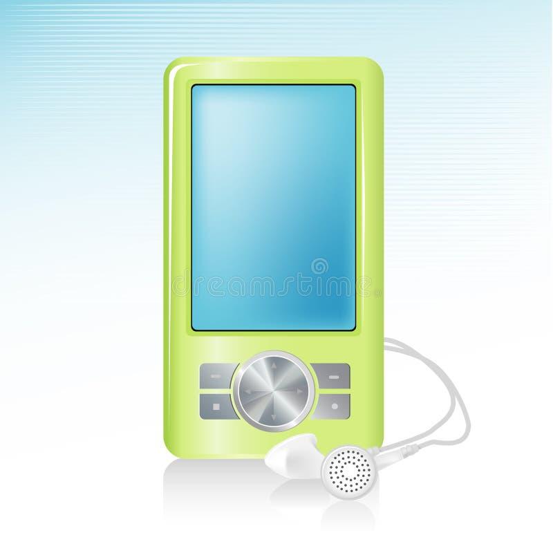 Icona del giocatore MP3 illustrazione vettoriale