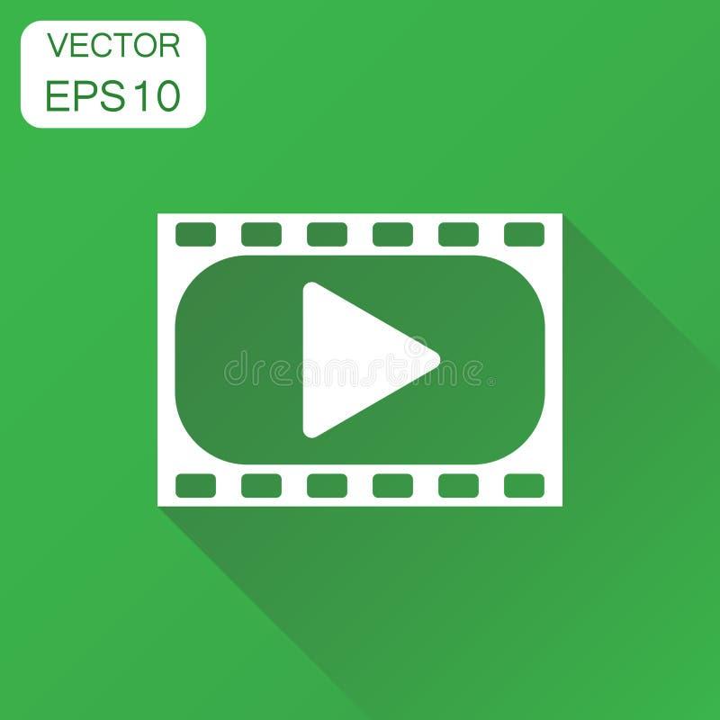 Icona del GIOCO Pittogramma del video del gioco di concetto di affari Illustr di vettore illustrazione vettoriale
