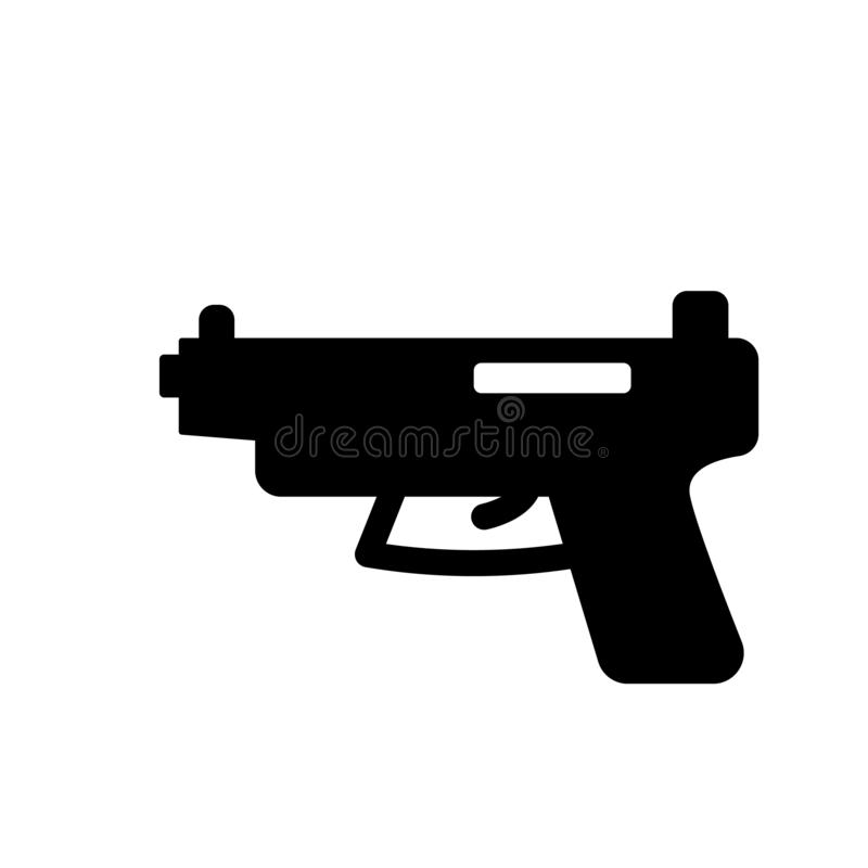 icona del glock  illustrazione di stock