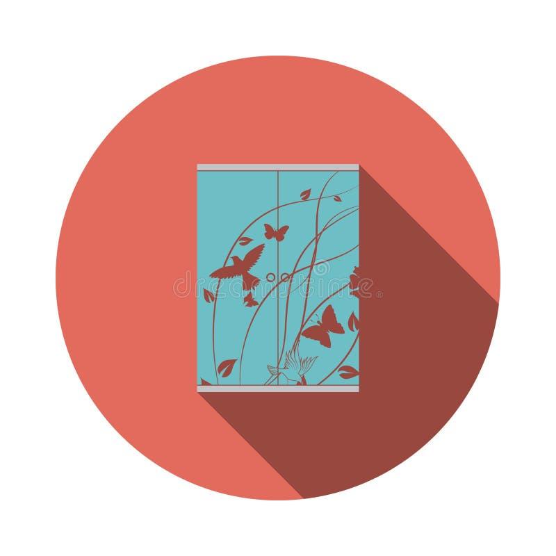 Icona del guardaroba del bambino illustrazione vettoriale