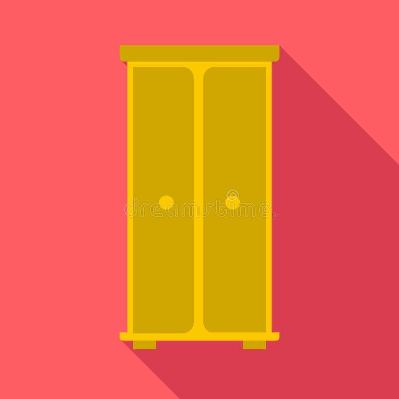 Icona del guardaroba, stile piano royalty illustrazione gratis
