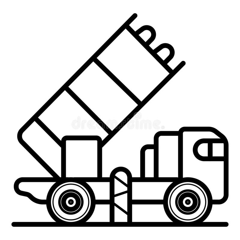 icona del lanciatore illustrazione vettoriale