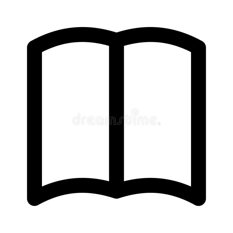 Icona del libro aperto royalty illustrazione gratis