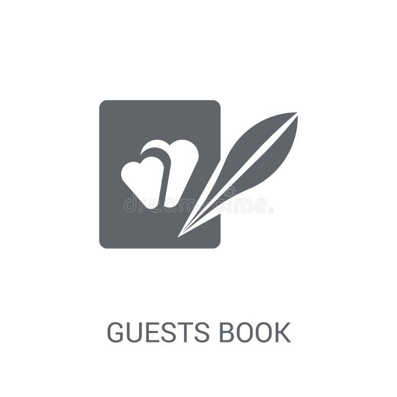 Icona del libro di ospiti  royalty illustrazione gratis