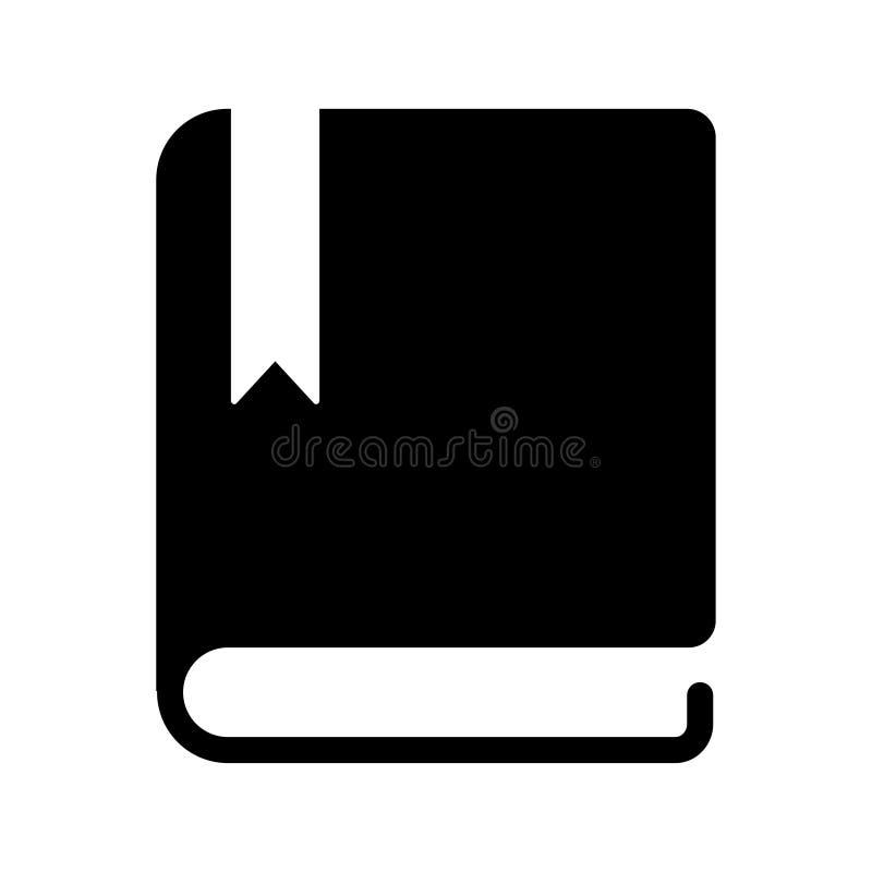 Icona del libro, illustrazione di vettore icona del libro, stile piano di progettazione dell'illustrazione di riserva di vettore illustrazione vettoriale