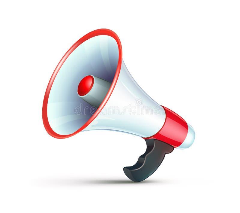 Icona del megafono illustrazione vettoriale