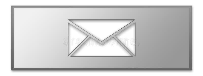 Icona del messaggio illustrazione di stock