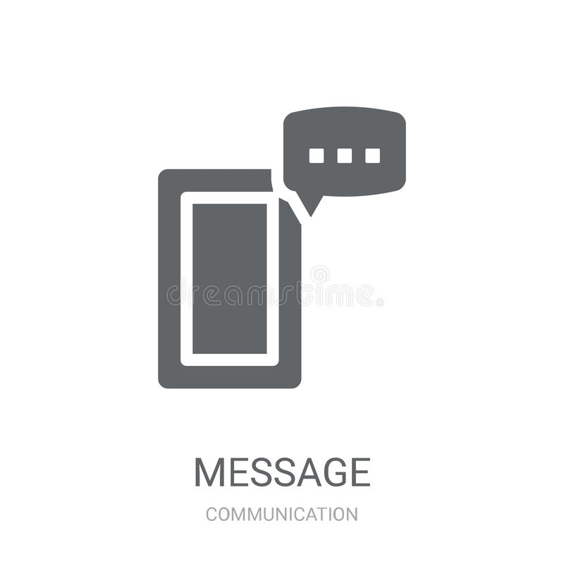 Icona del messaggio  illustrazione vettoriale