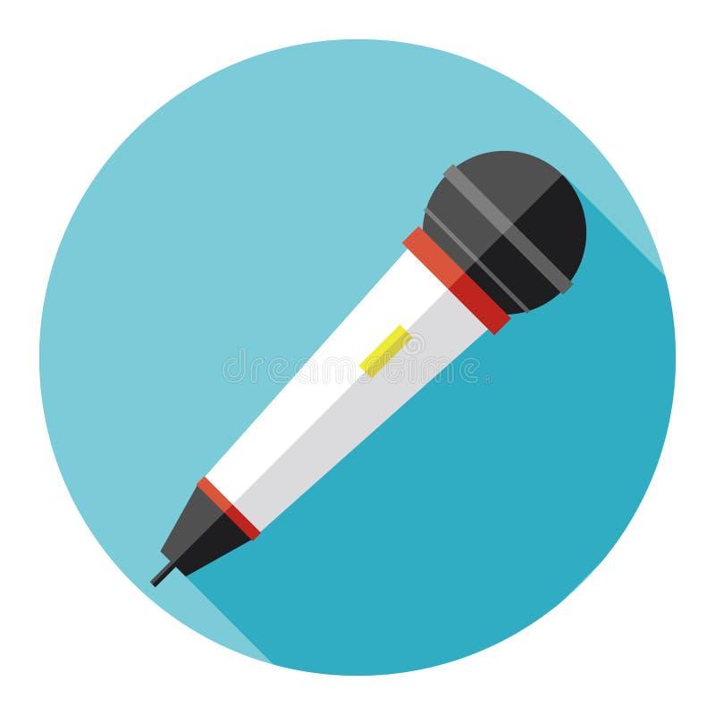 Icona del microfono royalty illustrazione gratis
