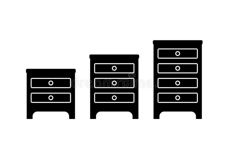 Icona del mobile illustrazione di stock