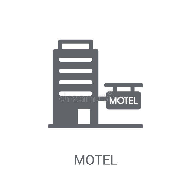 Icona del motel  illustrazione di stock