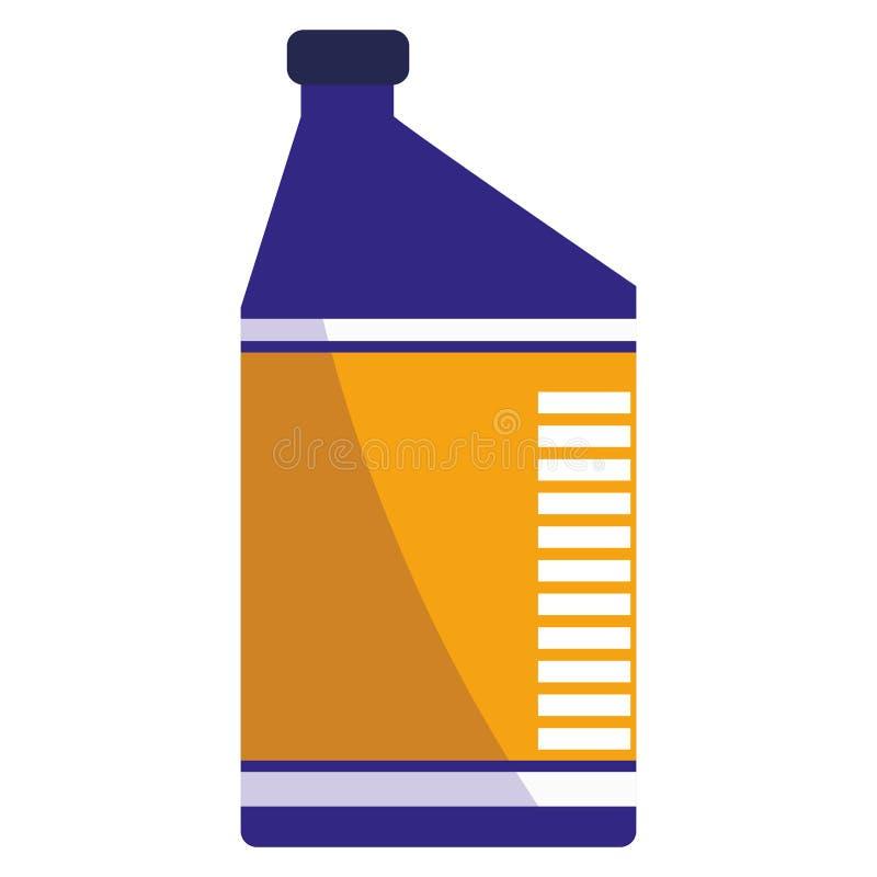 Icona del motore di gallone dell'olio royalty illustrazione gratis