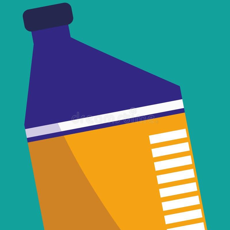 Icona del motore di gallone dell'olio illustrazione vettoriale