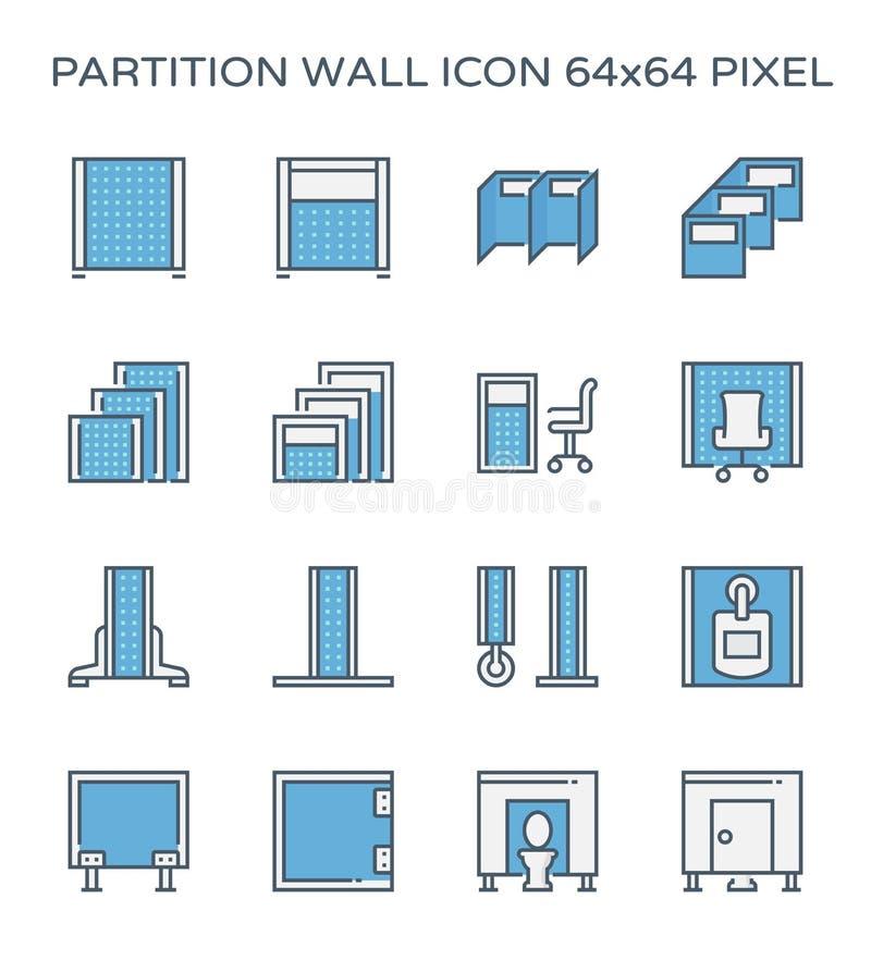 Icona del muro divisorio royalty illustrazione gratis