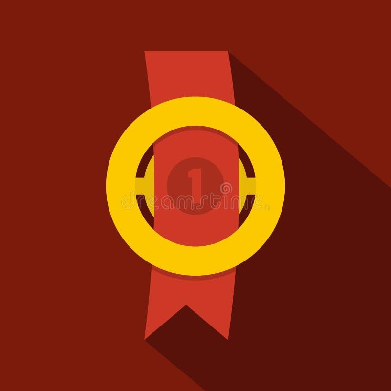 Icona del nastro del premio piana illustrazione vettoriale