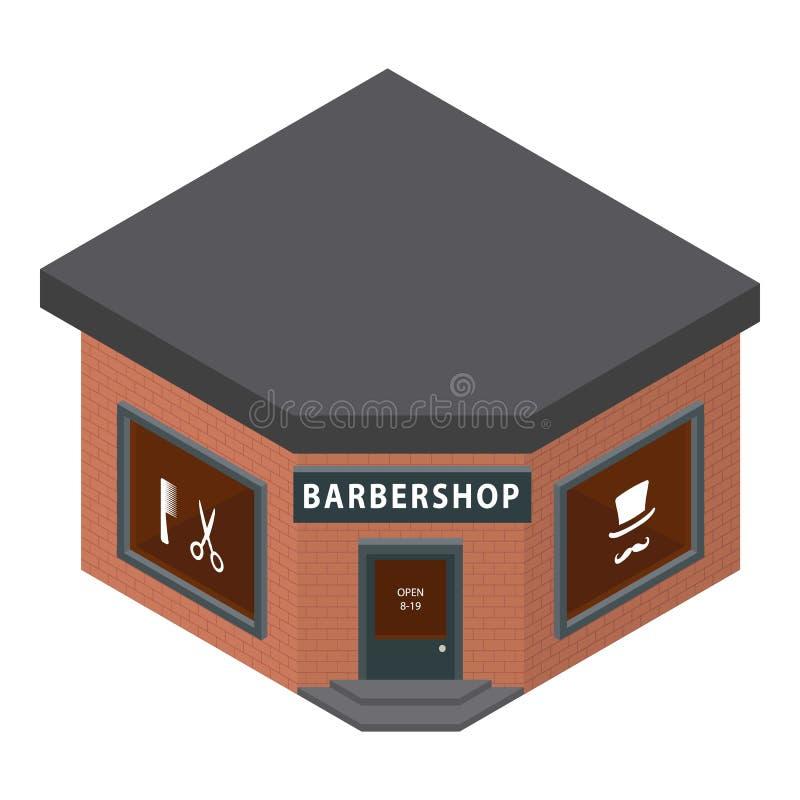 Icona del parrucchiere, stile isometrico royalty illustrazione gratis