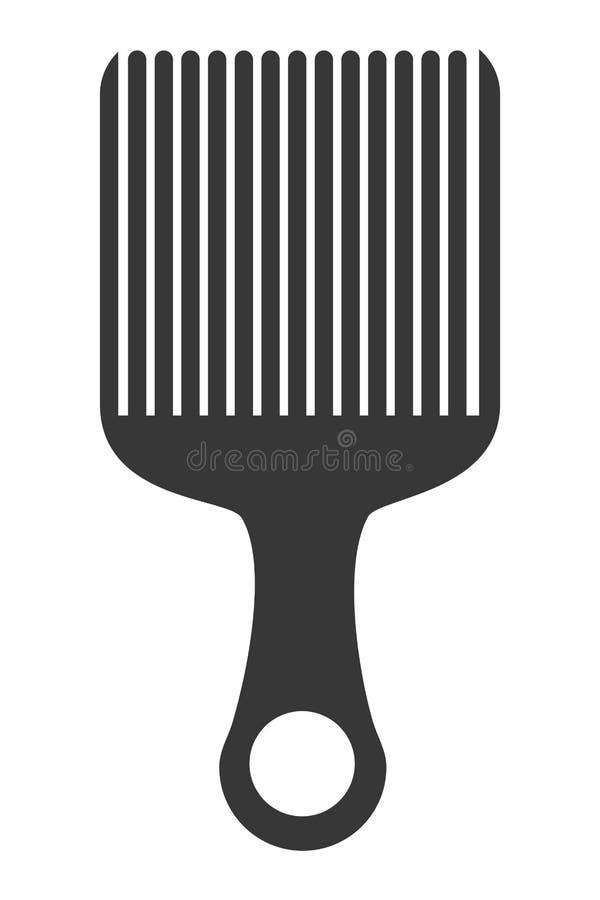 icona del pettine dei capelli royalty illustrazione gratis