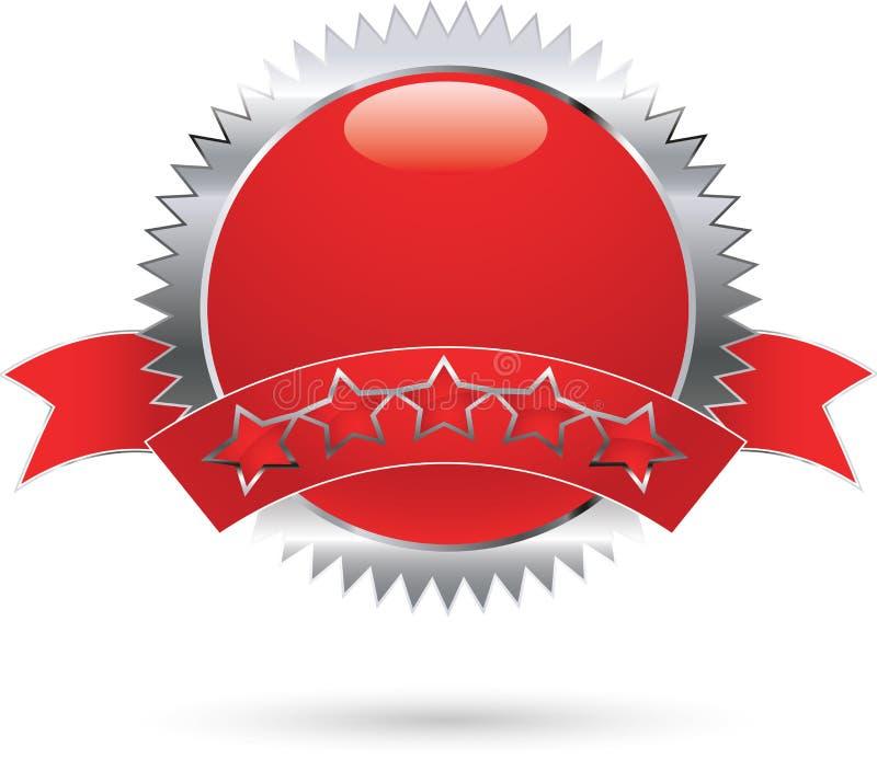 Icona del premio illustrazione di stock