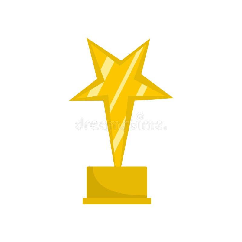 Icona del premio della stella piana royalty illustrazione gratis