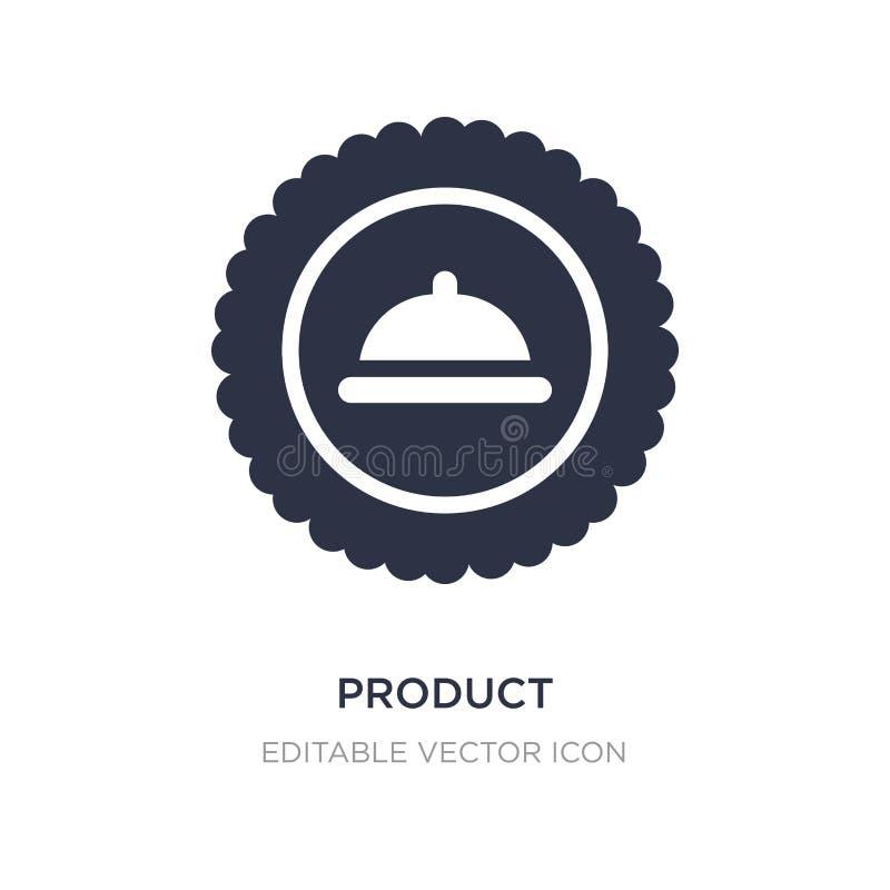 icona del prodotto su fondo bianco Illustrazione semplice dell'elemento dal concetto vario illustrazione di stock