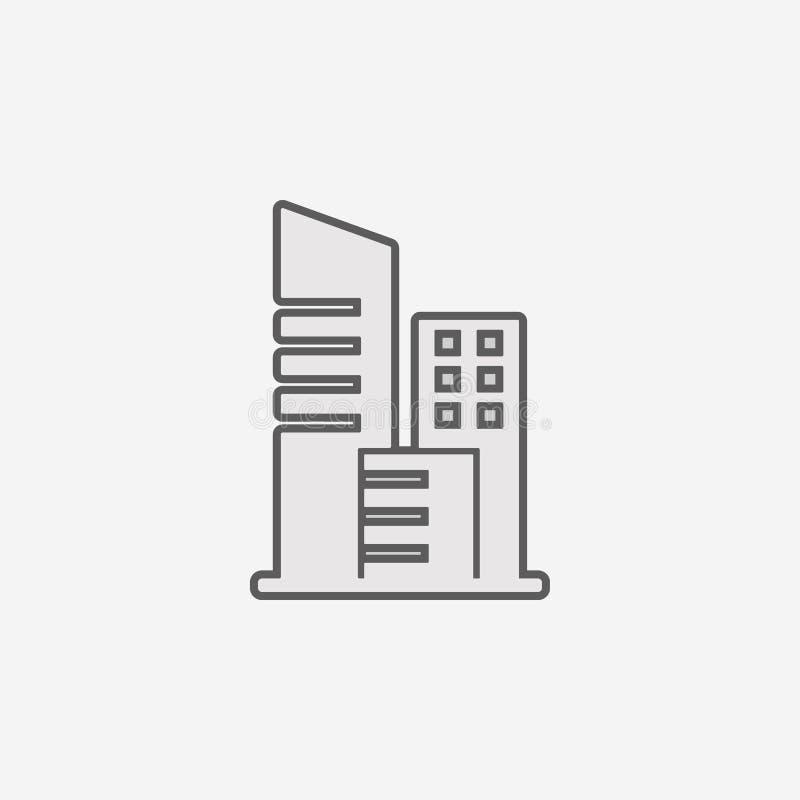 icona del profilo del campo del segno del testo in grassetto Un elemento di un'icona semplice di 2 colori Linea sottile icona per illustrazione di stock