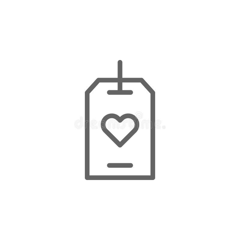 Icona del profilo dell'etichetta di giorno di madri Elemento dell'icona dell'illustrazione di giorno di madri I segni ed i simbol illustrazione di stock