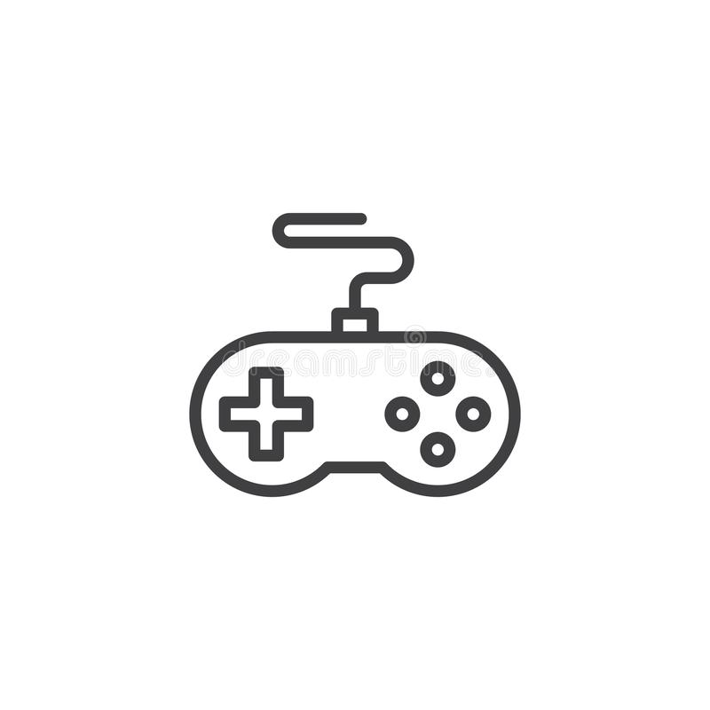 Icona del profilo del regolatore del gioco royalty illustrazione gratis