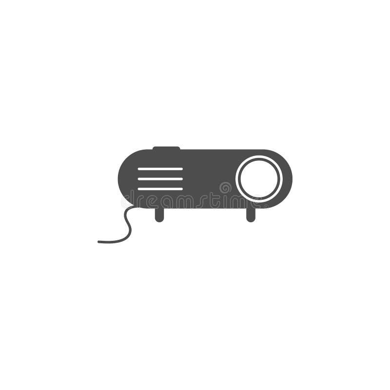 Icona del proiettore r Progettazione grafica di qualità premio Segni, icona per i siti Web, desi della raccolta di simboli del pr illustrazione di stock