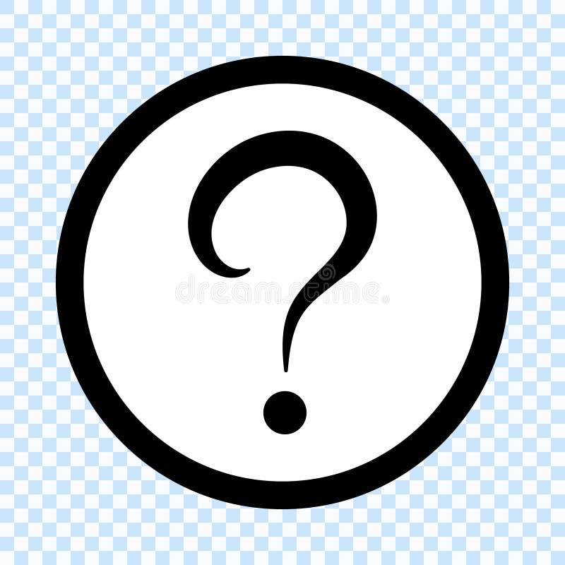 Icona del punto interrogativo royalty illustrazione gratis