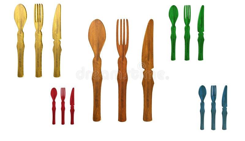 Icona del ristorante, segno, 3D illustrazione, migliore icona fotografia stock