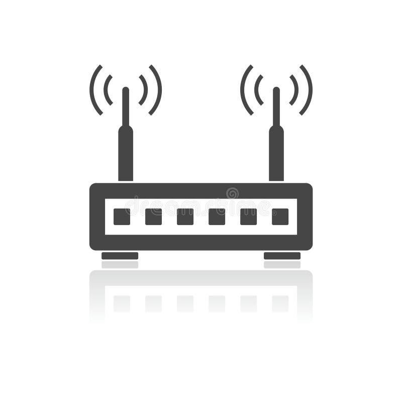 Icona del router illustrazione di stock