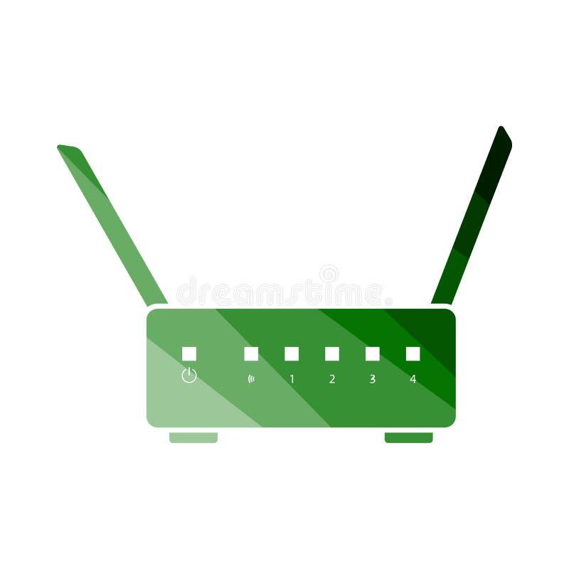 Icona del router di Wi-Fi royalty illustrazione gratis